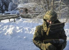 Russian Soldier Snow