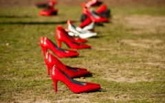 Sexual Assault March Shoes