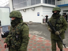 Unmarked Russian Soldiers